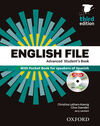 ENGLISH FILE ADVANCED - STUDENT'S BOOK + WORKBOOK WITH KEY PACK (3RD ED.)