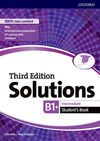 SOLUTIONS INTERMEDIATE. STUDENT'S BOOK 3RD EDITION