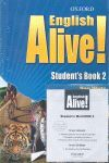ENGLISH ALIVE! 2. STUDENT´S BOOK + CD