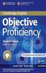 OBJECTIVE PROFICIENCY STUDENT'S BOOK WITH ANSWERS + DOWNLOADABLE SOFTWARE