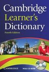 CAMBRIDGE LEARNER'S DICTIONARY + CD ROM
