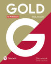 GOLD B1 PRELIMINARY NEW EDITION COURSEBOOK