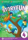 STORYFUN FOR MOVERS LEVEL 4 STUDENT'S BOOK WITH ONLINE ACTIVITIES AND HOME FUN B