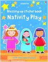 DRESSING-UP STICKER BOOK NATIVITY PLAY