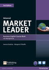 MARKET LEADER ADVANCED - COURSEBOOK WITH DVD-ROM AND MY ENGLISHLAB ACCESS CODE PACK