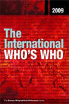 THE INTERNATIONAL WHO'S WHO 2009 / 72ND EDITION