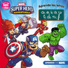 MARVEL SUPERHERO ADVENTURES APRENDE LAS LETRAS