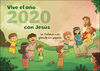 CALENDARIO PARED VIVE CON JESUS 2020