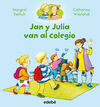 JAN Y JULIA VAN AL COLEGIO