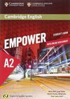 CAMBRIDGE ENGLISH EMPOWER FOR SPANISH SPEAKERS A2 STUDENT'S BOOK WITH ONLINE ASS