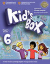 KID'S BOX LEVEL 6 PUPIL'S BOOK UPDATED ENGLISH FOR SPANISH SPEAKERS 2ND EDITION