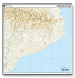 Mapa Fisic Catalunya Mut.Mapa Catalunya Fisic Mut