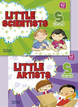 LITTLE ARTIST + LITTLE SCIENTISTS STARTER PK