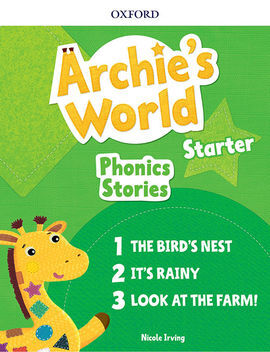 ARCHIE'S WORLD STARTER PHONICS READERS