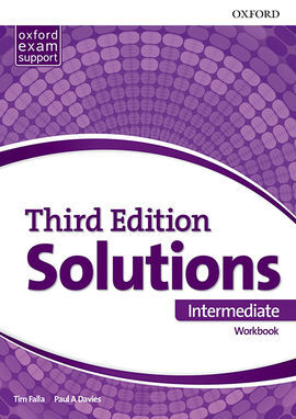 SOLUTIONS INTERMEDIATE. WORKBOOK 3RD EDITION