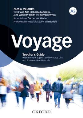 DESCARGAR VOYAGE A2 - TEACHER'S BOOK + TEACHER'S RESOURCE DISC PACK