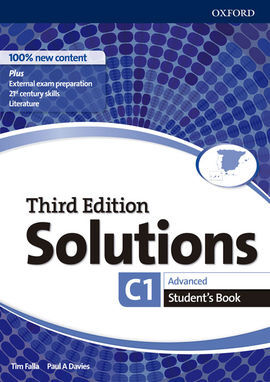 SOLUTIONS 3RD EDITION ADVANCED. STUDENT'S BOOK
