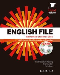 ENGLISH FILE ELEMENTARY PACK STUDENT'S BOOK + WORKBOOK WITH KEY + ONLINE SKILLS PRACTICE