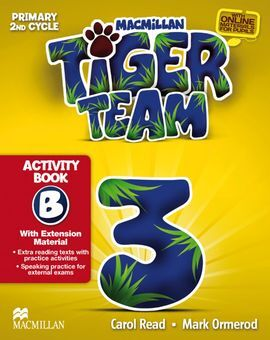 TIGER TEAM 3 - ACTIVITY BOOK PACK