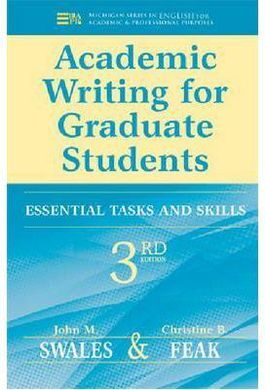 DESCARGAR ACADEMIC WRITING FOR GRADUATE STUDENTS: ESSENTIAL SKILLS AND TASKS