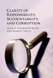 CLARITY OF RESPONSABILITY, ACCOUNTABILITY, AND CORRUPTION