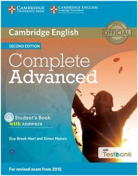 COMPLETE CAE ADVANCED (2ª ED.) STUDENT´S BOOK WITH ANSWERS