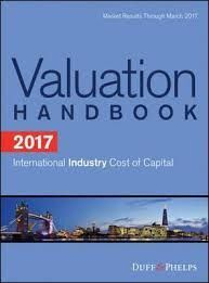 VALUATION HANDBOOK 2017. INTERNATIONAL INDUSTRY. COST OF CAPITAL