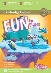 FUN FOR FLYERS (4 EDITION) STUDENT'S BOOK WITH AUDIO WITH ONLINE ACTIVI