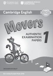 CAMBRIDGE ENGLISH YOUNG LEARNERS 1 FOR REVISED EXAM FROM 2018 MOVERS ANSWER BOOK