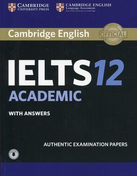 CAMB.IELTS 12 ACADEMIC ST KEY/DOWNLOAD AUDIO