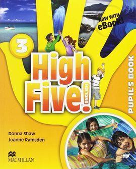 High Five! 3 Pb (ebook) Pk | Librería Online TROA. Comprar