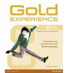GOLD EXPERIENCE B1+ WB 15 WITHOUT KEY