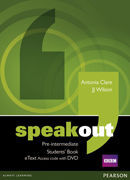 SPEAKOUT PRE-INTERMEDIATE - STUDENTS' BOOK ETEXT ACCESS CARD WITH DVD