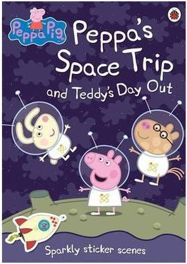 PEPPA PIG. PEPPA´S SPACE TRIP AND TEDDY´S DAY OUT