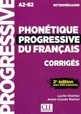 2 EDI. PHONETIQUE PROGRESSIVE DU FRANCAIS CORRIGES