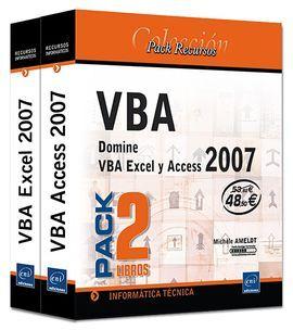DESCARGAR PACK VBA EXCEL Y ACCESS 2007.