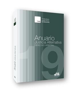 DESCARGAR ANUARIO JUSTICIA ALTERNATIVA Nº 15, AÑO 2019.
