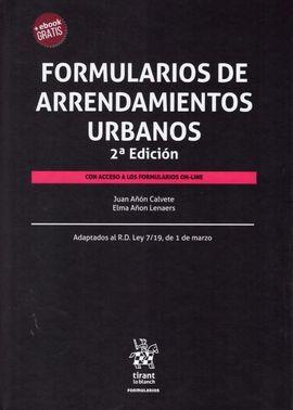DESCARGAR FORMULARIOS DE ARRENDAMIENTOS URBANOS