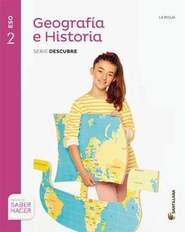 DESCARGAR GEOGRAFIA E HISTORIA - 2º ESO - RIOJA + CUADERNO
