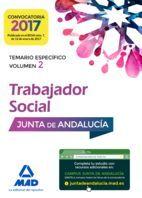DESCARGAR TRABAJADORES SOCIALES DE LA JUNTA DE ANDALUCÍA. TEMARIO ESPECÍFICO VOLUMEN 2