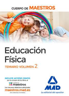 DESCARGAR CUERPO DE MAESTROS EDUCACIÓN FÍSICA. TEMARIO VOLUMEN 2