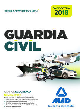 GUARDIA CIVIL. SIMULACROS DE EXAMEN 1