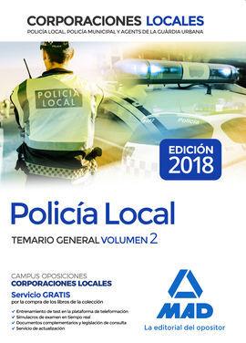 DESCARGAR POLICÍA LOCAL. TEMARIO GENERAL VOLUMEN 2
