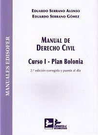 DESCARGAR MANUAL DE DERECHO CIVIL. CURSO I - PLAN BOLONIA. 2ª ED.