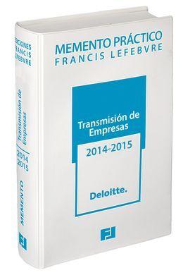 DESCARGAR MEMENTO PRÁCTICO TRANSMISIÓN DE EMPRESAS, 2014-2015