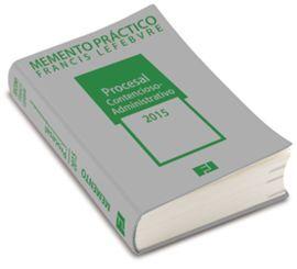 DESCARGAR MEMENTO PRÁCTICO PROCESAL CONTENCIOSO ADMINISTRATIVO 2015