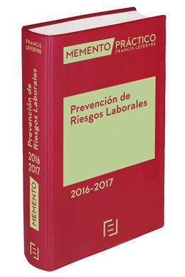 DESCARGAR MEMENTO PRÁCTICO PREVENCIÓN DE RIESGOS LABORALES 2016-2017