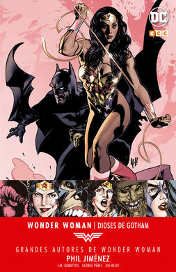 WONDER WOMAN -  DIOSES DE GOTHAM - PHIL JIMEMEZ