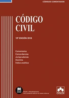 CÓDIGO CIVIL 19ª ED. 2018