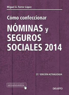 DESCARGAR CÓMO CONFECCIONAR NÓMINAS Y SEGUROS SOCIALES 2014